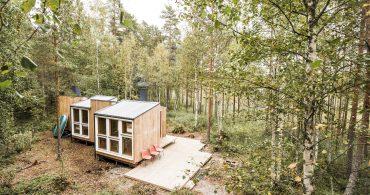 メイド・イン・フィンランド。森の中のスモールハウス「small but fine」