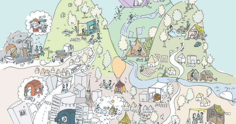 小屋×都市#16(完)小屋に見る「希望」や「願い
