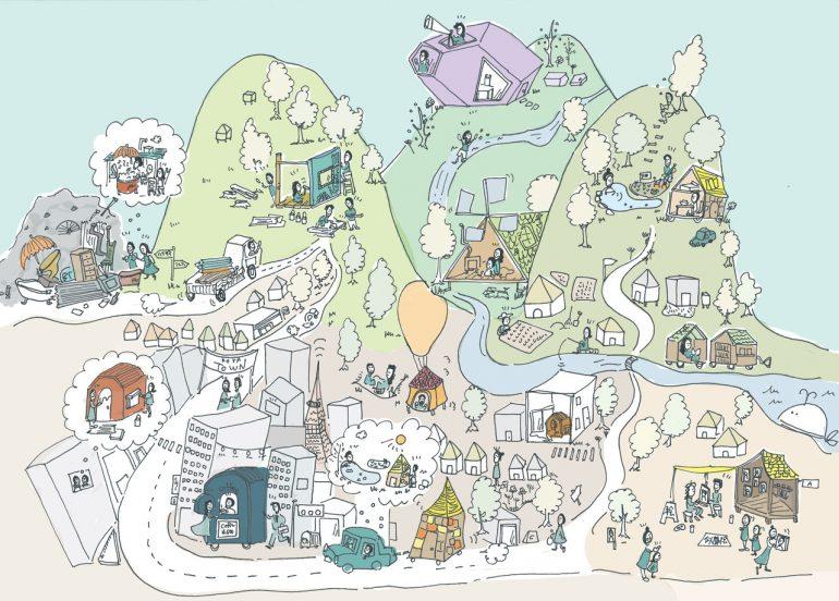 小屋×都市 #16(完)小屋に見る「希望」や「願い」|都市を科学する〜小屋編〜 – オンデザインパートナーズ×YADOKARI