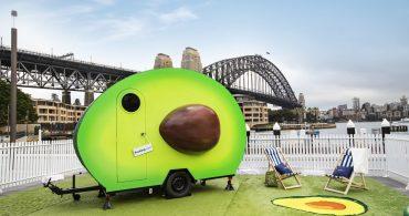 シドニーに現れたアボカドハウス「Avo-Condo」