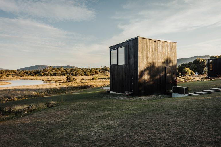 タスマニアの自然を楽しむためのスモールハウス「the denison rivulet project」