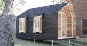 キットで作れるのが嬉しい。オーストラリアの建築家が手がけたスモールハウス「IMBY」