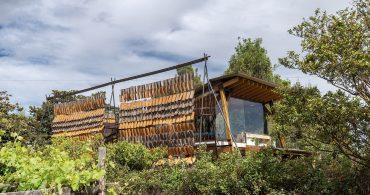 空飛ぶタイルの家「Casa de las Tejas Voladoras」