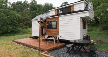 スモールハウス作りを心得た会社が作ったスモールハウス「Rumspringa」