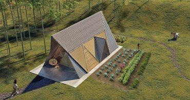 地震に耐える竹製の家。ネパールのモジュール住宅「3modular」