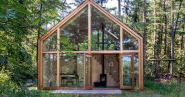 経済と環境の両方の面から持続可能なスモールハウス「the indigo cabins」
