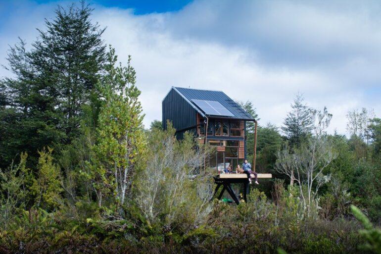 キットで作れるチリのオフグリッドハウス「zerocabin」