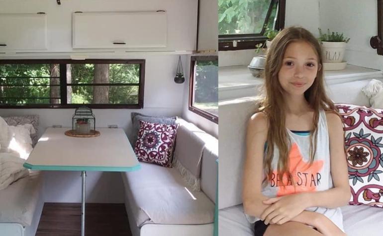 新型コロナのロックダウン中、なんと11歳の少女がキャンピングカーをリノベーション!クリエイティブなステイホーム時間に注目!