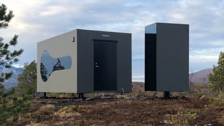 ノルウェーの自然を味わうキャビン「Birdbox」