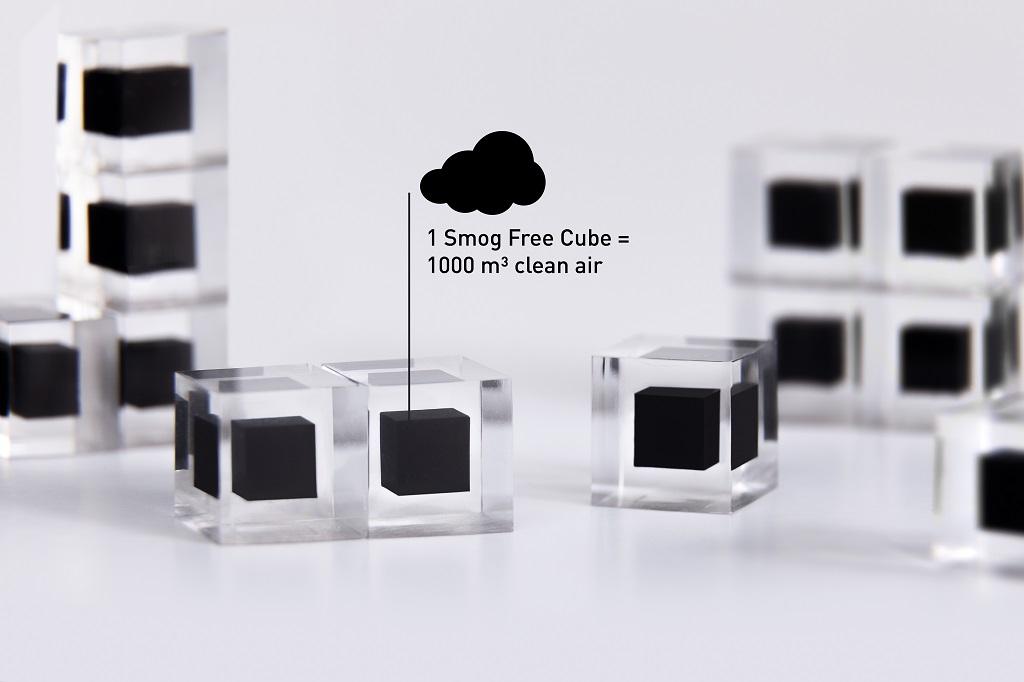 空気中のスモッグから作られるスモッグフリーリング(Smog Free Ring)