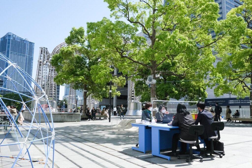 【イベントレポート&動画】公園がオフィスになる? 実証実験「Vivid Worker's Place」で見えた新しい働き方の形と屋外空間活用の新たな可能性